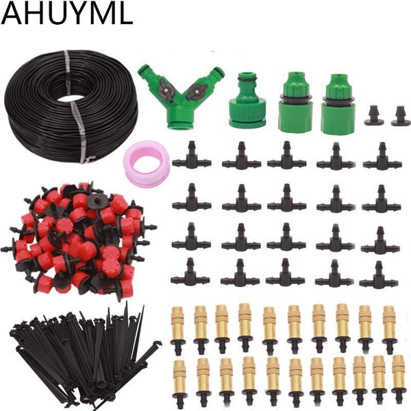 5M/25M/30M Garden Automatic Pouring Drip Irrigation System Kit Adjustable Spray Watering Set