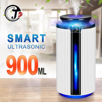 Ny 900Ml Luftfugtiggører Ultralyd Usb Diffuser Aroma Essential Oil 7 Color Led Night Light Cool