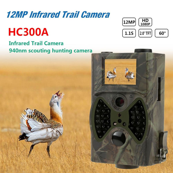 Suntek Basic Hunting Trail Camera Hc300A 8Mp Night Vision 1080P Video Wildlife Cams