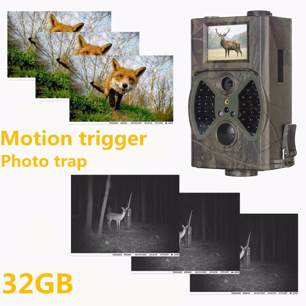 Suntek Photo Traps Deer Hunting Trail Camera 12Mp 1080P 940Nm Night Vision Cameras Digital Infrared
