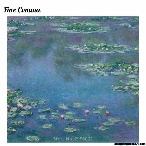 Water Lilies 1906 By Claude Monet French Hand Painted Oil Painting Reproduction Replica Copy Wall