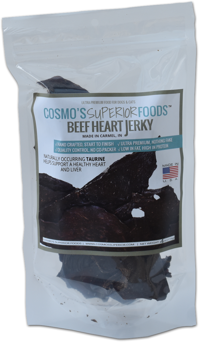 Cosmo's Signature Beef Heart 4 oz