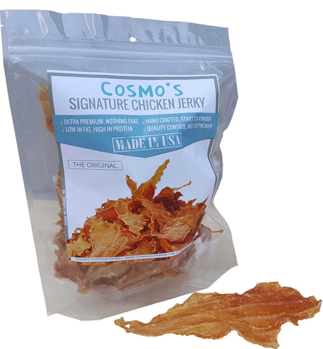 Cosmo's Signature Chicken Jerky 8 oz