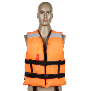 8860a8ebad529 Adult Swimming Life Jacket Vest Double Sided Camo & Orange - Limitless Sales