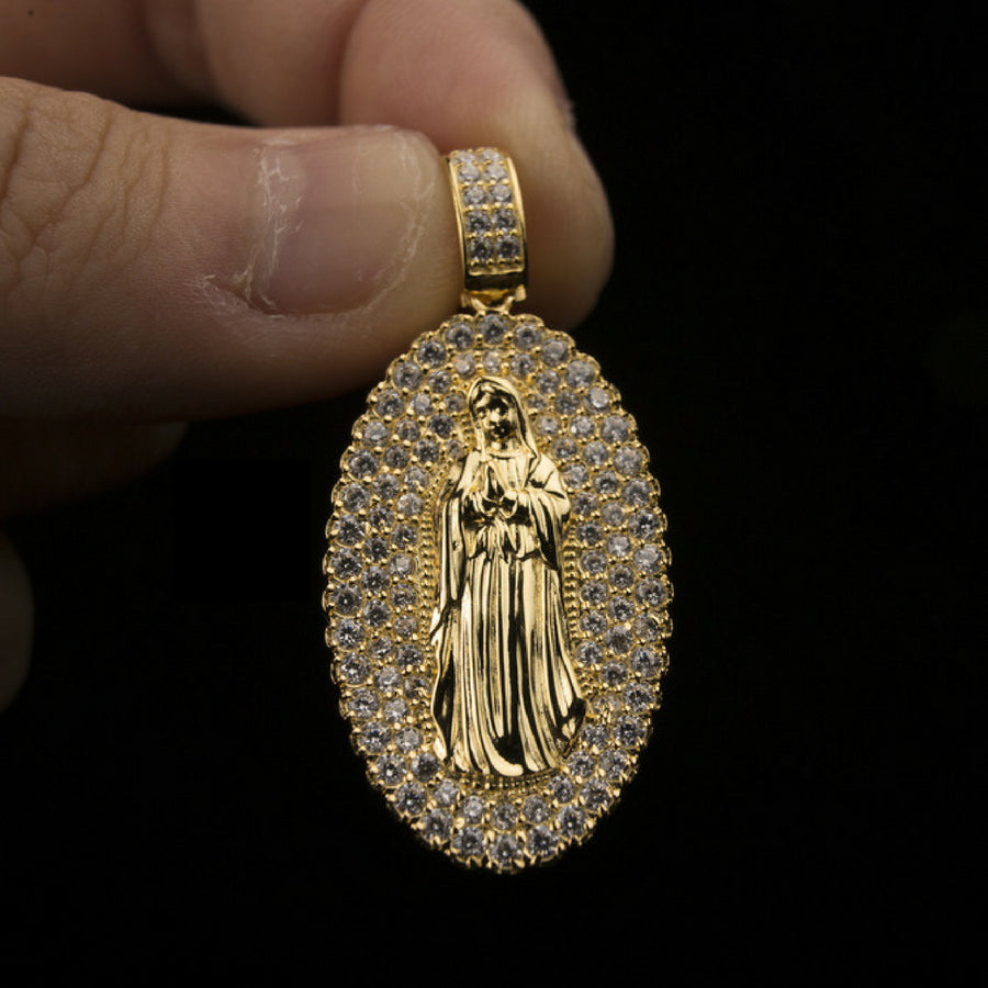 18K Gold, Mother Mary