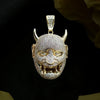 18K Gold, Hannya Mask - zediced