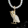 18K Yellow Gold, Night Owl - zediced