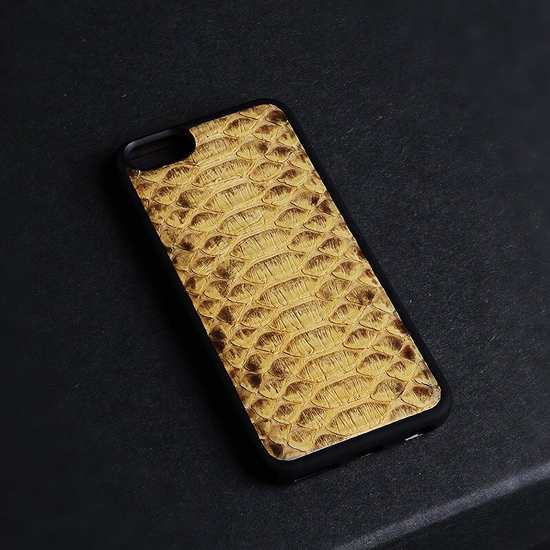 Yellow Hive Python iPhone Case - zediced