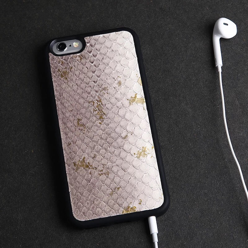 Light Purple Snakeskin iPhone Case