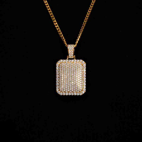 18K Gold ICE Cube - zediced
