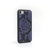 Double Tone Blue Python iPhone Case - zediced