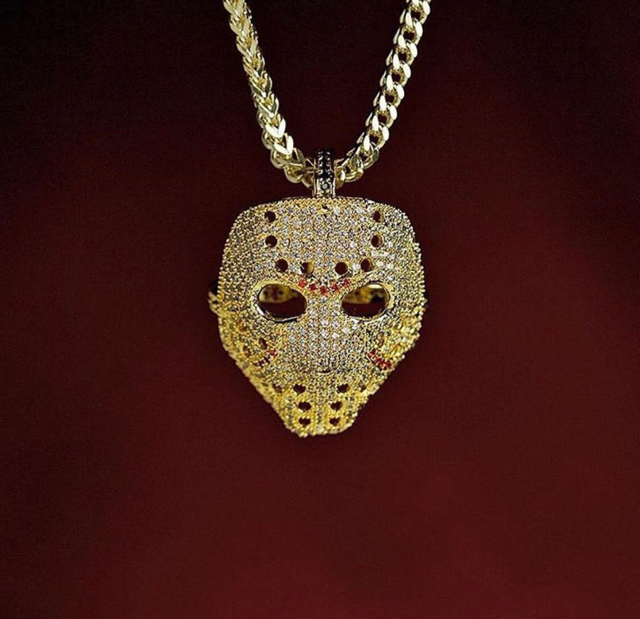 18K Gold, Panther Mask