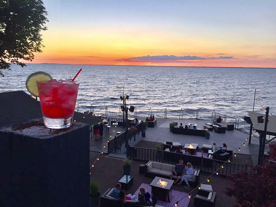 There's nothing like a patio with margaritas and sunsets