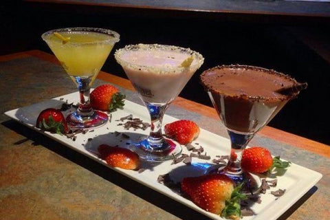 Martinis at The Chocolate Bar
