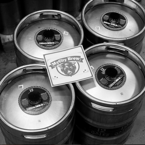 Kegs of Byson Brown Dunkel