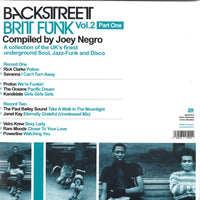 VA - Backstreet Brit Funk Vol.2 (Part One) compiled by Joey Negro (Double LP)