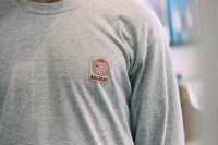 Logo Long sleeve T-shirt –– Grey