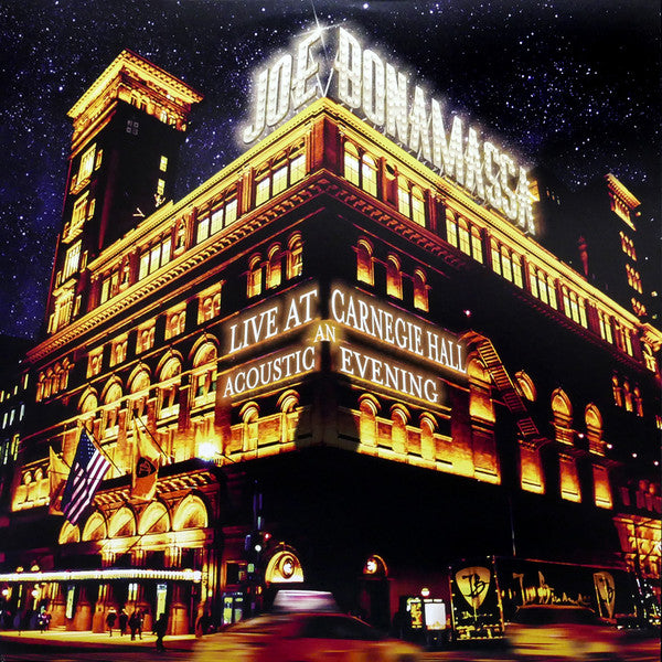 Joe Bonamassa - Live At Carnegie Hall, An Acoustic Evening (Triple LP)