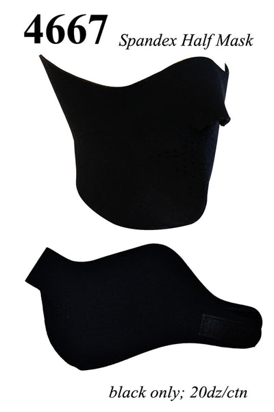 Ski Face Balaclava Mask High Quality Spandex 4667/AA763 - OPT FASHION WHOLESALE