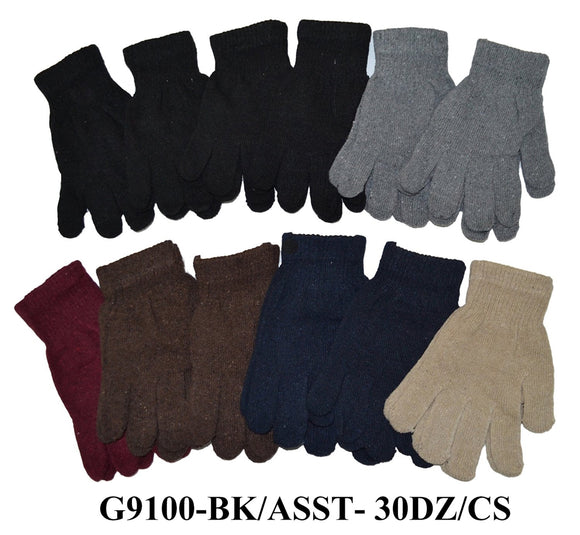 Magic Knit Gloves Unisex One Size Fits All G9100 - OPT FASHION WHOLESALE