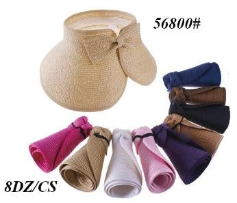 Wholesale Ladies Summer Hats Assorted Colors H56800 - OPT FASHION WHOLESALE
