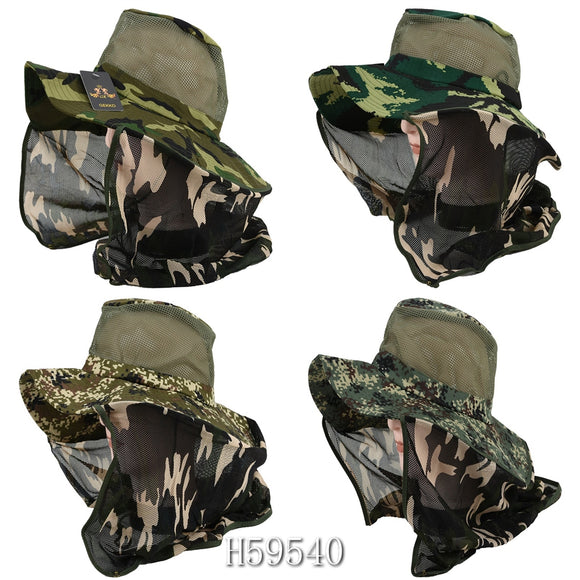 Wholesale Summer Sun Windproof Fishing Cap Hats H59540 - OPT FASHION WHOLESALE