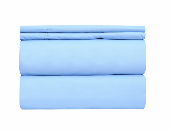 Deluxe Hotel Quality Double Brushed Microfiber 4 Piece Deep Pocket Bed Sheet Sheets Sets Bedding - Wrinkle Resistant Silky Soft Touch - OPT FASHION WHOLESALE