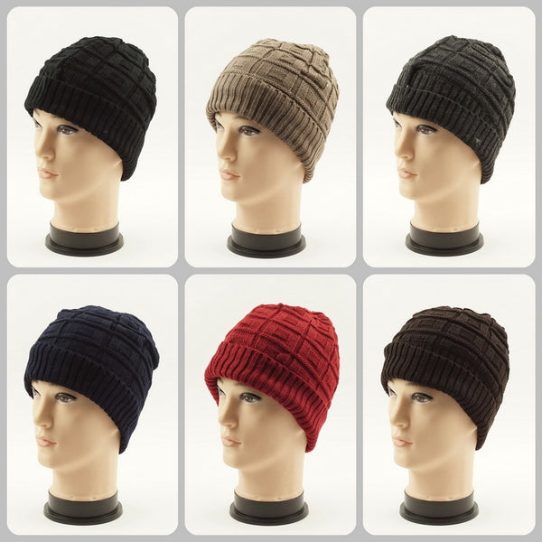Wholesale Cable Knit Beanie Hats H53018 - OPT FASHION WHOLESALE