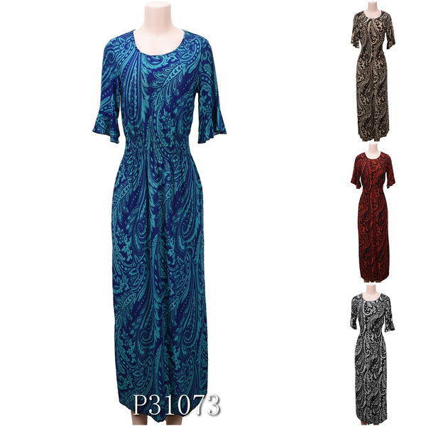 Wholesale Fashion Long Maxi Dresses Summer Sundresses, P31073 - OPT FASHION WHOLESALE