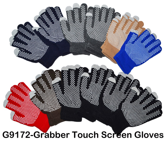 Wholesale Non-Slip Grabber Palms Work Garden Gloves G9172 - OPT FASHION WHOLESALE