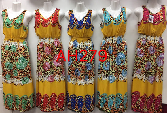 NYC Wholesale Fashion Long Maxi Dresses Summer Sundresses, AH279 - OPT FASHION WHOLESALE
