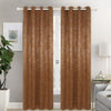 Bright Velvet Panne Blackout Room Darkening Grommet Top Window Curtain Panel, 81021 - OPT FASHION WHOLESALE