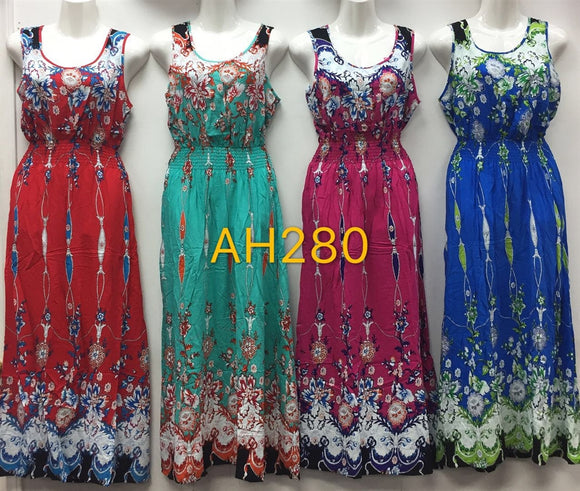 NYC Wholesale Fashion Long Maxi Dresses Summer Sundresses, AH280 - OPT FASHION WHOLESALE