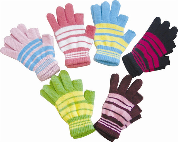 Wholesale Lot 12 Pairs Knit iPhone iPad Touch Screen Texting Work GPS Smartphone Gloves GS0802 - OPT FASHION WHOLESALE