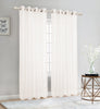 Sheer Voile Grommet Top Window Curtain Panel, 81007 - OPT FASHION WHOLESALE