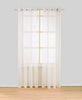 Sheer Voile Grommet Top Window Curtain Panel, 81009 - OPT FASHION WHOLESALE