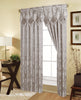 Embossed Rod Pocket Window Curtain Panel and Valance, 81027 - OPT FASHION WHOLESALE