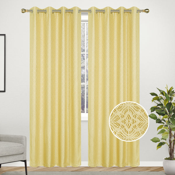 Linen Lined Interlined Wave Silver Line Grommet Top Window Curtain Panel, 81028 - OPT FASHION WHOLESALE