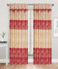 Embossed Maple Rod Pocket Window Curtain Panel, 81030 - OPT FASHION WHOLESALE