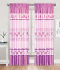 Silky Satin Rose Rod Pocket Window Curtain Panel, 81031 - OPT FASHION WHOLESALE
