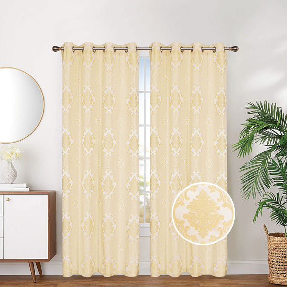 Linen Lined And Interlined Grommet Top Window Curtain Panel, 81035 - OPT FASHION WHOLESALE
