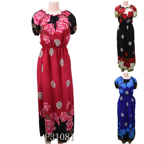 Wholesale Fashion Long Maxi Dresses Summer Sundresses - OPT FASHION WHOLESALE