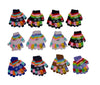 Kids Boys Girls Snowflakes Christmas Knit Gloves 9112 - OPT FASHION WHOLESALE