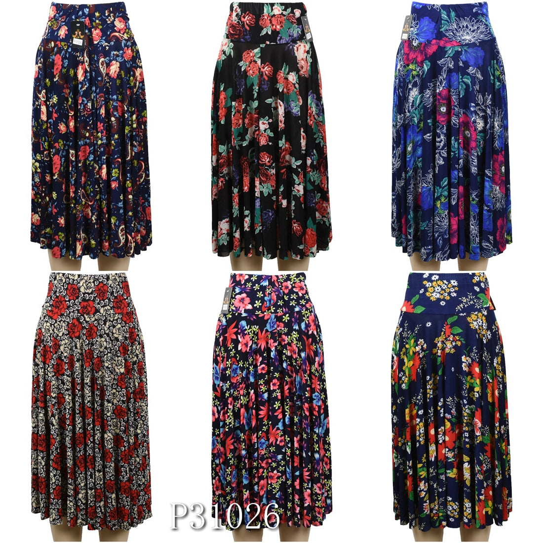 697ec4c00e3 Wholesale Fashion Flower Print Long Maxi Skirts – OPT FASHION WHOLESALE