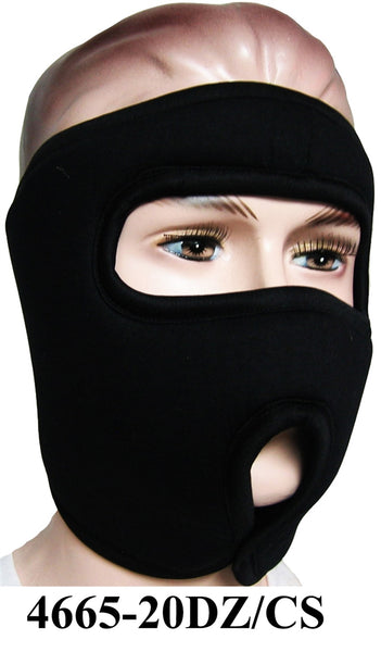 Military Type Ski Mask Black 4665 - OPT FASHION WHOLESALE