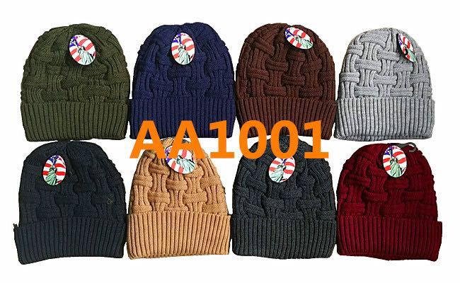 c68d19ffcb0cad Lady Winter Ribbed Cable Knitted Long Cuffed Hat Beanies Skull Cap Fur  Lining AA1001 - OPT ...