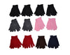 Kids Boys Girls Polar Fleece Full Fingers Winter Warm Gloves - OPT FASHION WHOLESALE