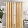 Lined And Interlined Grommet Top Window Curtain Panel, FF1001 - OPT FASHION WHOLESALE