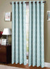 Jacquard Weave Elegant Pattern Grommet Top Window Curtain Panel, FF1015 - OPT FASHION WHOLESALE