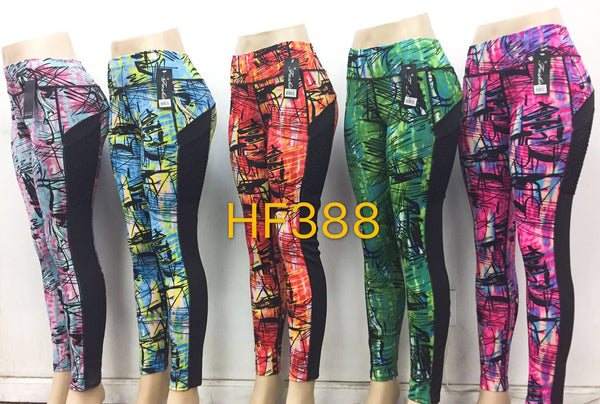 Sports Yoga Gym Workout Legging Pant, HF388 - OPT FASHION WHOLESALE